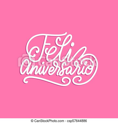 Anniversario Matrimonio In Spagnolo.Rosa Illustration Feliz Anniversario Background Vector