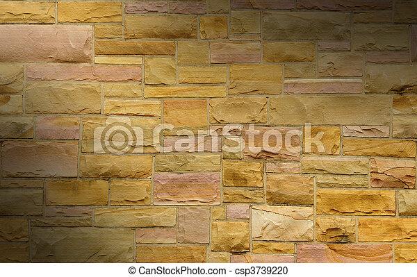 La masa rosada y dorada se iluminaron dramáticamente - csp3739220