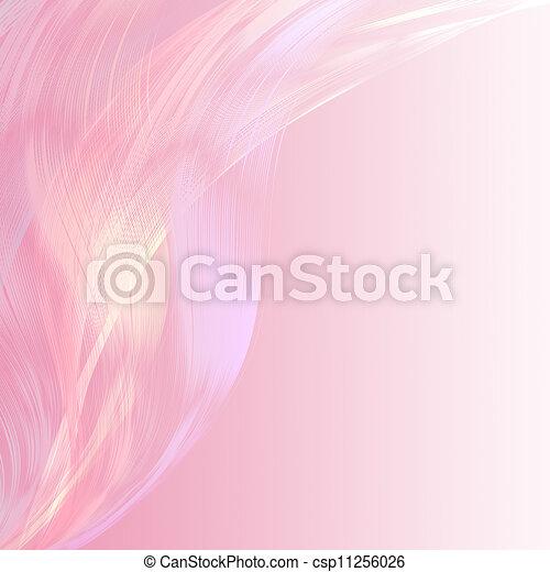 Pastel atractivo, línea rosa, fondo abstracto - csp11256026