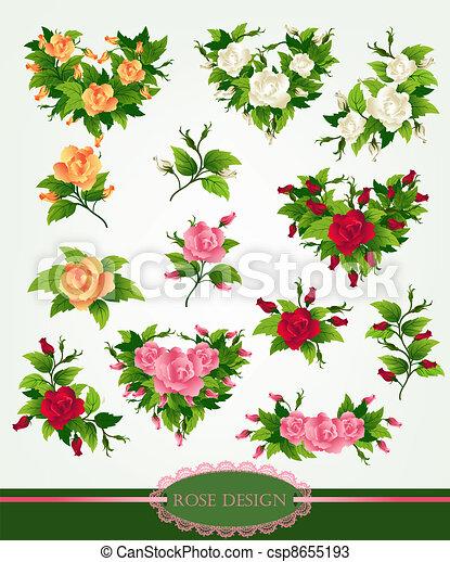 rosa, progetto serie - csp8655193