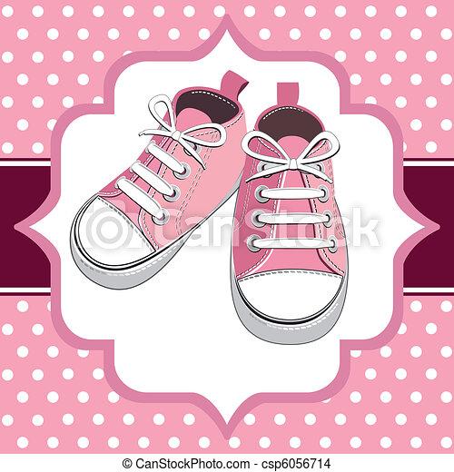 rosa, scarpe - csp6056714