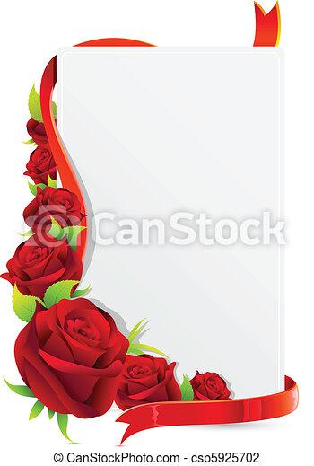 rosa, scheda - csp5925702
