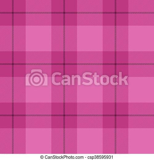 rosa, tartan, plaid - csp38595931