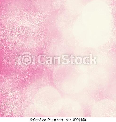 rosa, weich, hintergrund - csp18994150