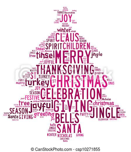 Weihnachten Wörter.Rosa Wort Wörter Baum Hintergrund Wolkenhimmel Weißes Weihnachten
