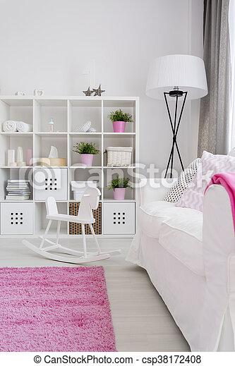 Zimmer Mädchen rosa zimmer mädchen wenig weißes ruhig rosa pastell