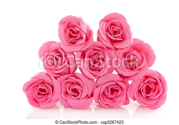 rosas cor-de-rosa - csp3267423