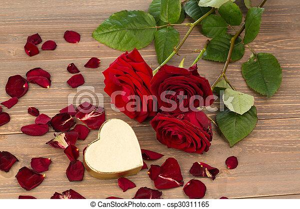 rosas, dia valentine, mãe - csp30311165