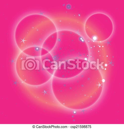rose, cercle, étoile, fond - csp21598875