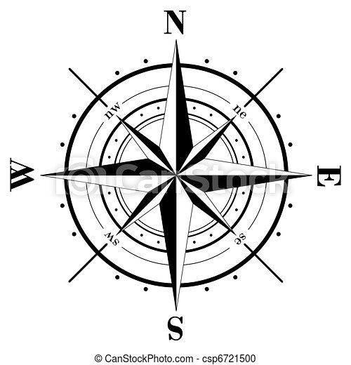 rose, compas - csp6721500