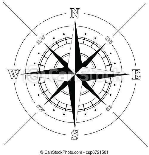 rose, compas - csp6721501