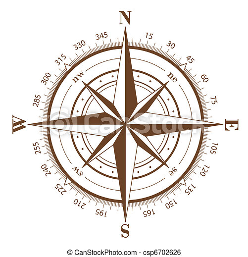 rose, compas - csp6702626