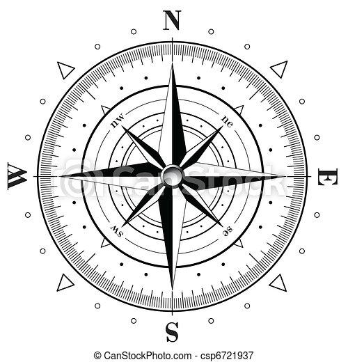 rose, compas - csp6721937
