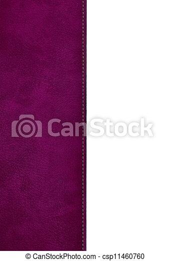Rose Cuir Couverture Livre