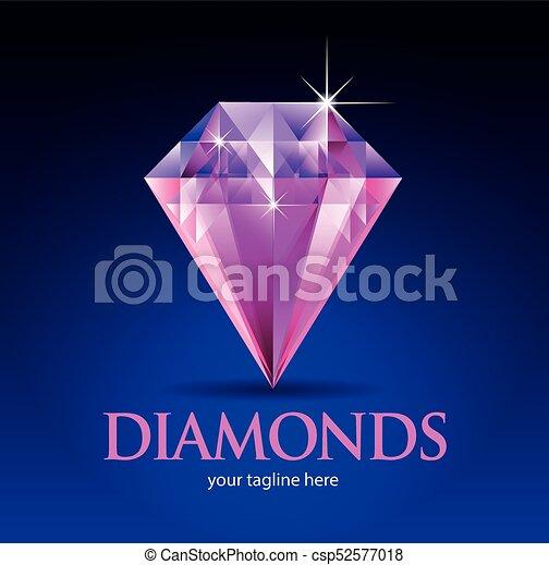 rose, diamant - csp52577018