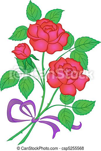 Rose Fleurs Rouges Amour Cadeau Rose Symbole Fleurs Bouquet