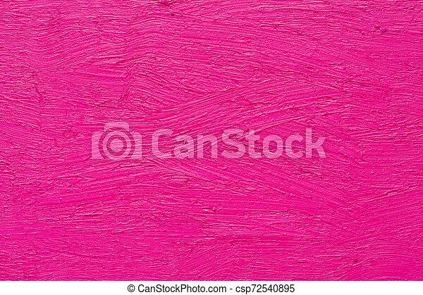 rose, huile, coups, résumé, brosse, peinture - csp72540895
