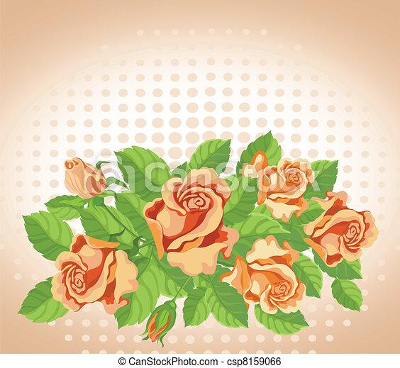 rose, multa, scheda - csp8159066