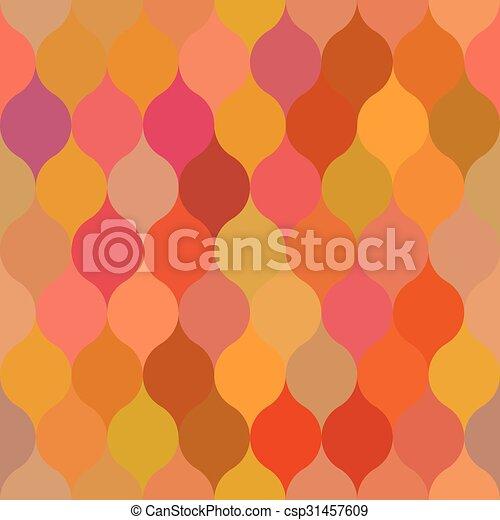 Rose Palette Vecteur Feuille Couleur Modèle Aléatoire