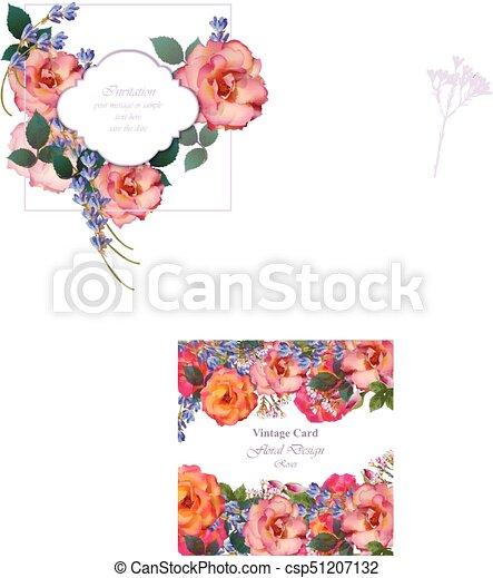 Rose Primevere Flowers Lavande Invitation Roses Couleurs