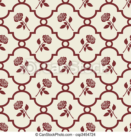 Roses background - csp3454724