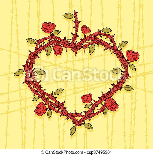 Roses barbed wire. Images for the identity of the group or just ...