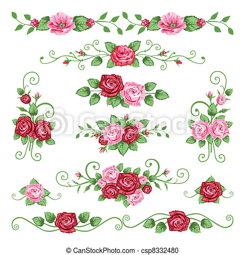 Roses collection - csp8332480