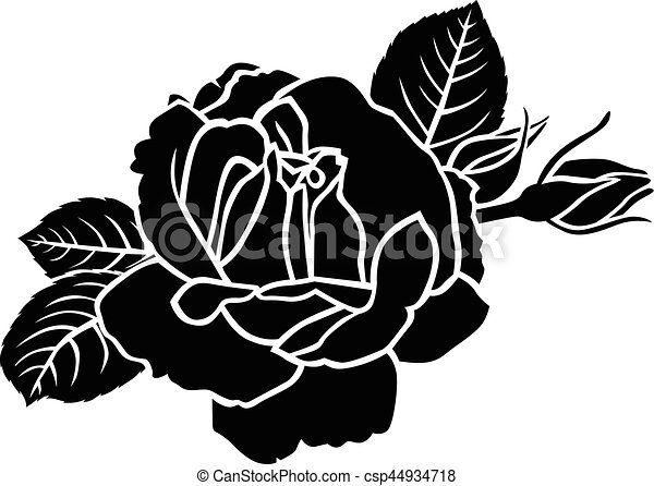 Line Art Rose Flower : Drawing sketch of flowers how to draw a rose flower easy line