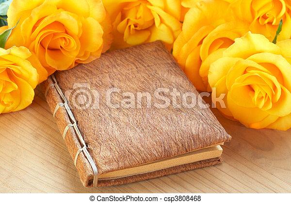 Roses Livre Jaune