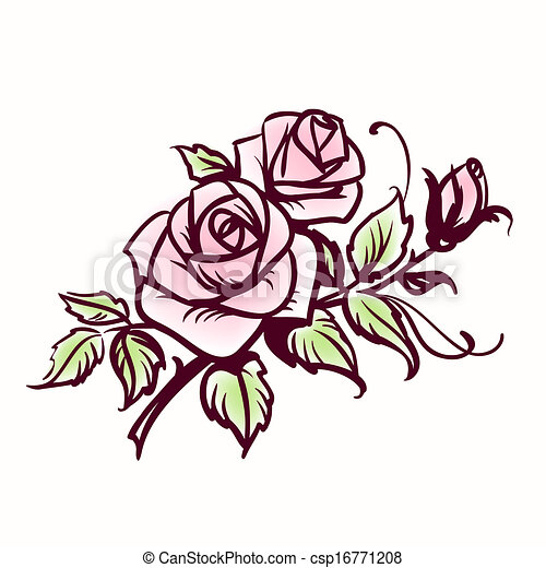 roses vector clipart search illustration drawings and eps rh canstockphoto com rose vector art roses vectoriel