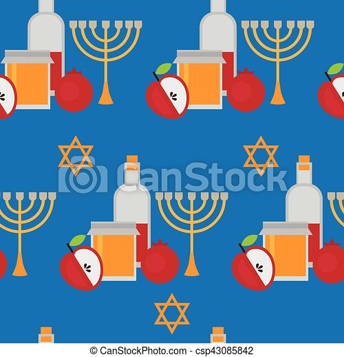 Rosh hashanah jewish new year greeting card hebrew symbols judaism rosh hashanah jewish new year greeting card hebrew symbols judaism elements csp43085842 m4hsunfo