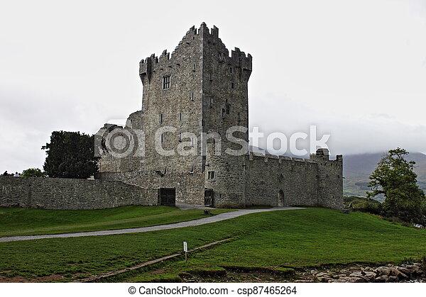 Ross Castle - HDR - csp87465264
