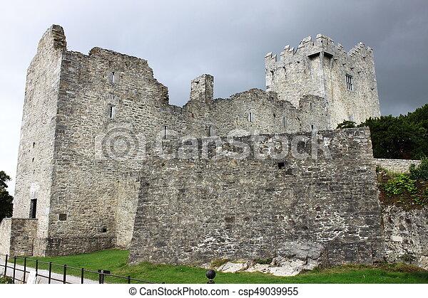 Ross Castle in Ireland - csp49039955