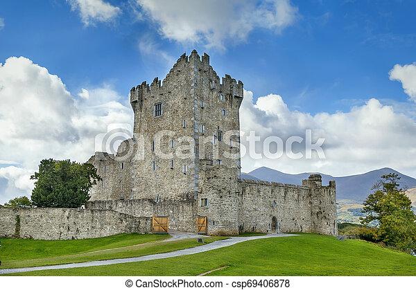 Ross Castle, Ireland - csp69406878
