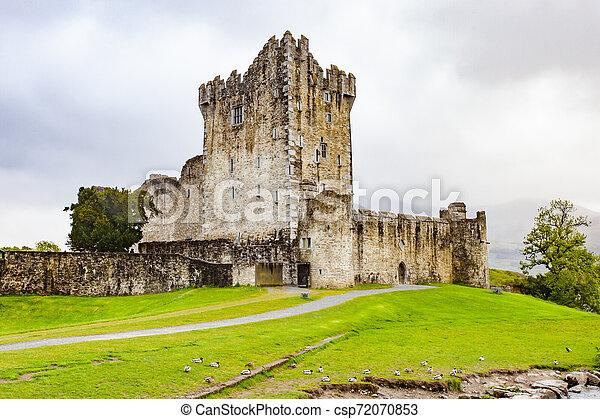 Ross Castle, Ireland - csp72070853