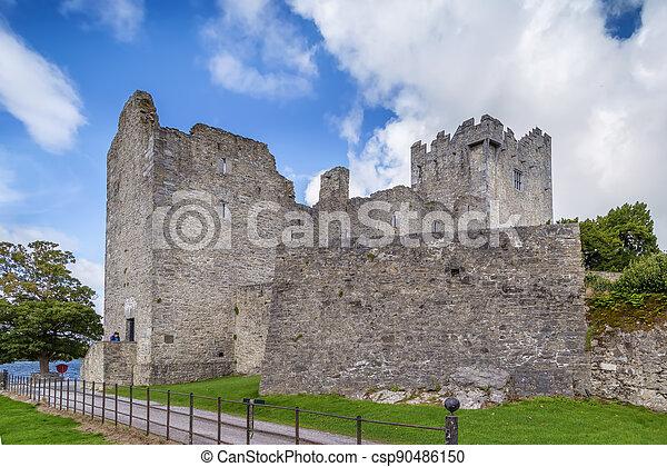 Ross Castle, Ireland - csp90486150