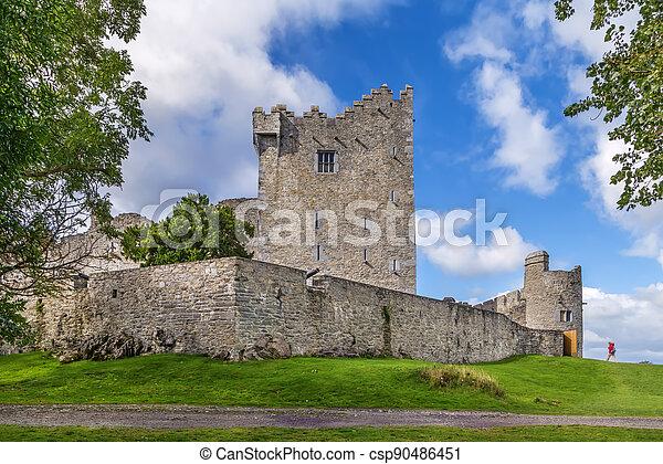 Ross Castle, Ireland - csp90486451