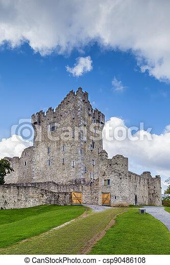 Ross Castle, Ireland - csp90486108