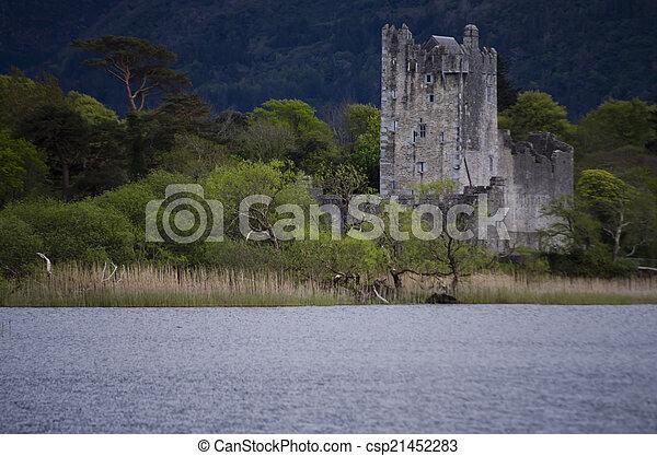 Ross Castle, Killarney, Ireland - csp21452283