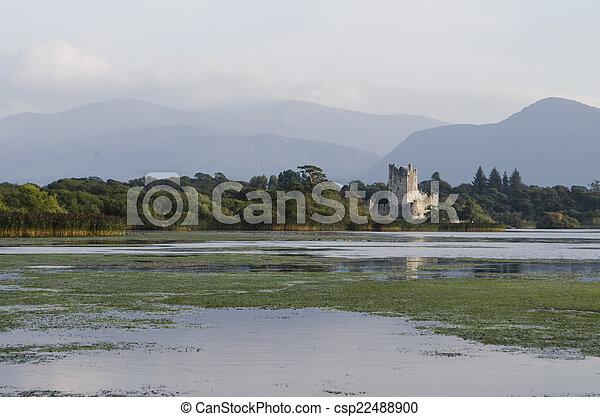 Ross Castle, Killarney, Ireland - csp22488900