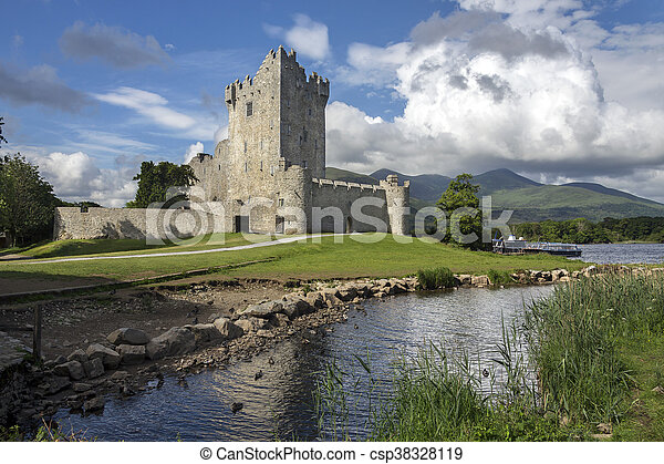 Ross Castle - Killarney - Republic of Ireland - csp38328119