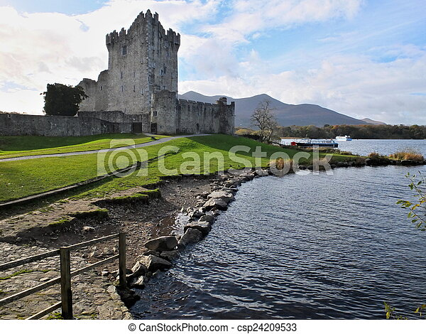 Ross Castle Killarney - csp24209533