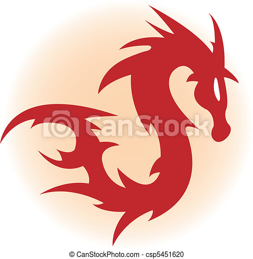 rosso, drago - csp5451620