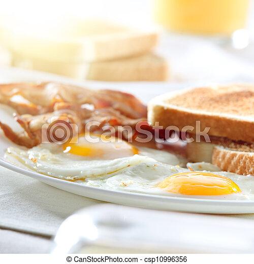 Bröd med ägg
