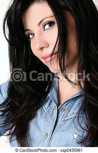 rosto mulher - csp0435961