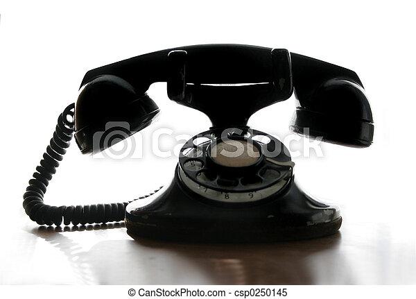 Rotary Phone - csp0250145
