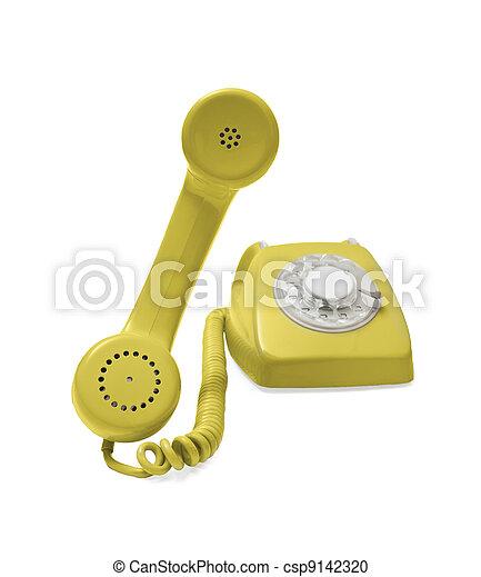Rotary phone - csp9142320