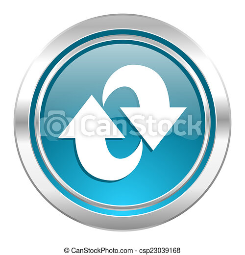 rotation icon, refresh sign - csp23039168