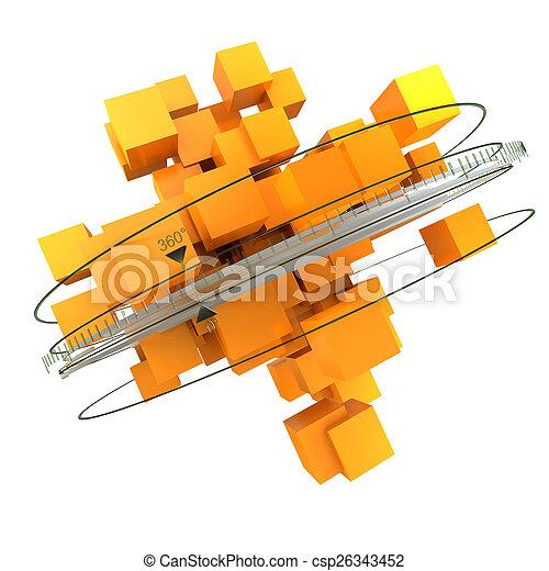 rotazione, arancia - csp26343452