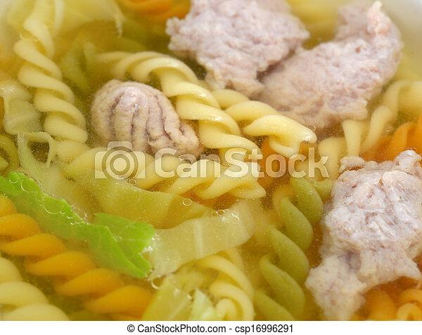Rotini pasta - csp16996291